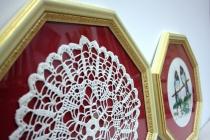 8-ми угольные рамы из деревянного багета для оформления вышивки