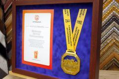 грамота и медаль в раме