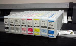 Пигментные чернила Epson для принтера 9890 8 цветов 700 мл