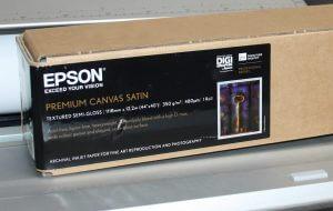 Полуглянцевый холст Epson Premium Canvas Satin